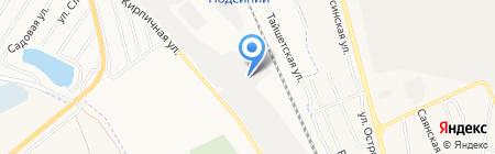 РусАгро на карте Абакана