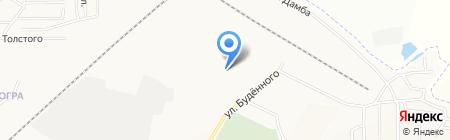 Русский Холодъ на карте Абакана