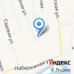 Почтовое отделение на карте Абакана