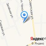 Подсинская средняя общеобразовательная школа на карте Абакана
