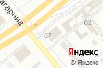 Схема проезда до компании Стрекоза в Минусинске