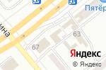 Схема проезда до компании Согдиана в Минусинске
