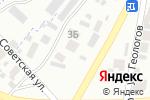 Схема проезда до компании Dr.Kvyadaras в Минусинске