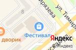 Схема проезда до компании Банкомат, Хакасский муниципальный банк в Минусинске