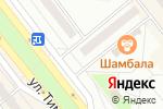 Схема проезда до компании Раздолье в Минусинске