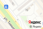 Схема проезда до компании Славица в Минусинске