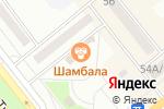 Схема проезда до компании Галеон в Минусинске