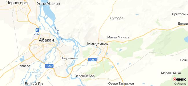 20 автобус в Минусинске