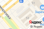 Схема проезда до компании МТС в Минусинске