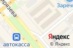 Схема проезда до компании Белая роза в Минусинске