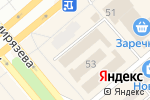 Схема проезда до компании Связной в Минусинске