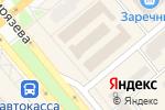 Схема проезда до компании Ортопедия Плюс в Минусинске