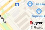 Схема проезда до компании MilaVitsa в Минусинске