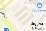Схема проезда до компании Как сыр в масле в Минусинске