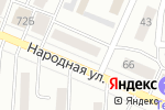 Схема проезда до компании Николь в Минусинске