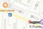 Схема проезда до компании Андреич в Минусинске