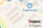 Схема проезда до компании Домашний уют в Минусинске