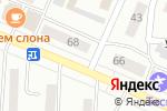 Схема проезда до компании Ключ в Минусинске