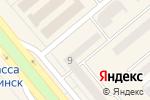 Схема проезда до компании РИТМ в Минусинске