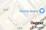 Схема проезда до компании ОКНА+ в Минусинске
