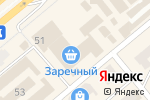 Схема проезда до компании Заречный в Минусинске