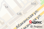 Схема проезда до компании Праздник вашей мечты в Минусинске