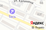 Схема проезда до компании Красноярский технический центр в Минусинске