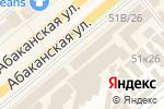 Схема проезда до компании Телефон.ру в Минусинске