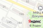 Схема проезда до компании Красивая дома в Минусинске