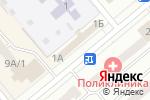 Схема проезда до компании Бодрый день в Минусинске