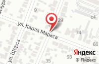 Схема проезда до компании Браво в Минусинске