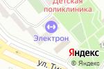 Схема проезда до компании Электрон в Минусинске
