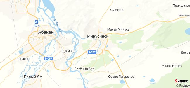 7 автобус в Минусинске