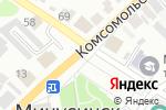 Схема проезда до компании Фасадные металлоконструкции в Минусинске