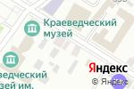 Схема проезда до компании Линия офиса в Минусинске