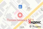 Схема проезда до компании Минусинская поликлиника для взрослых в Минусинске
