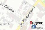 Схема проезда до компании Славянка в Минусинске