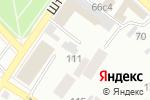 Схема проезда до компании Городское в Минусинске