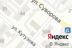 Схема проезда до компании РОСТО-ДОСААФ в Минусинске