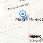 Администрация Маломинусинского сельсовета на карте Абакана