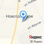 Новотроицкий сельский клуб на карте Абакана