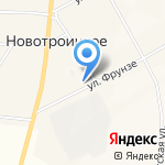 Администрация Новотроицкого сельсовета на карте Абакана