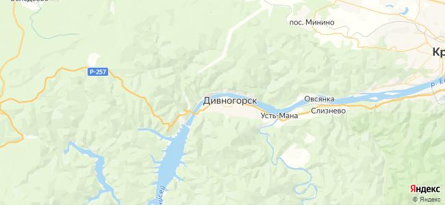 1 автобус в Дивногорске