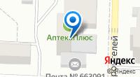 Компания Ткани плюс на карте