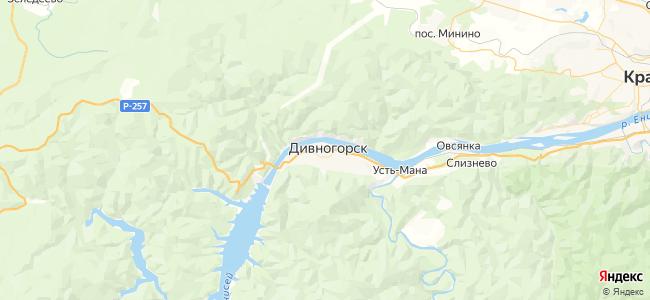 5 автобус в Дивногорске