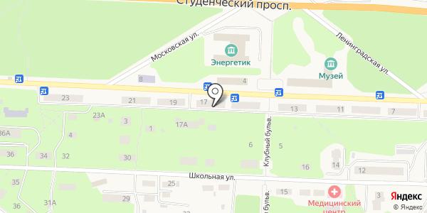 Атриум. Схема проезда в Дивногорске