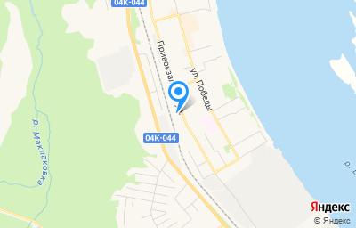 Местоположение на карте пункта техосмотра по адресу Красноярский край, г Лесосибирск, ул Привокзальная, стр 40