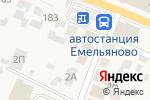 Схема проезда до компании Ломбард Корона в Емельяново