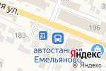 Схема проезда до компании ПлатеЖКа в Емельяново