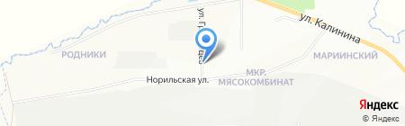 ПолиПак-10 на карте Красноярска